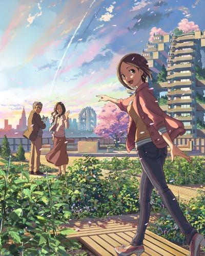 постер аниме Чей-то взгляд