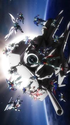 постер аниме 30th Gundam Perfect Mission