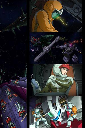 постер аниме Kidou Senshi Gundam Senki: Avant Title