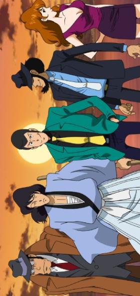 постер аниме Lupin Ikka Seizoroi