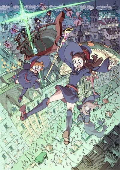 постер аниме Академия ведьмочек (фильм второй)