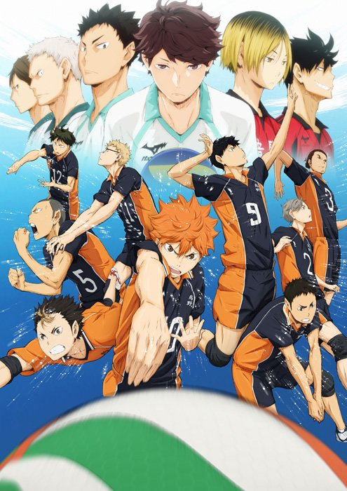 Волейбол!! / Haikyuu!! / HQ!