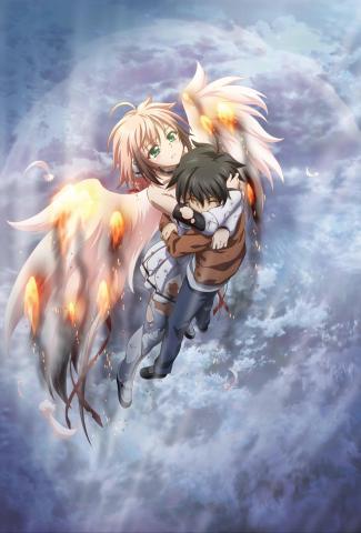 постер аниме Утраченное небесами (фильм второй)