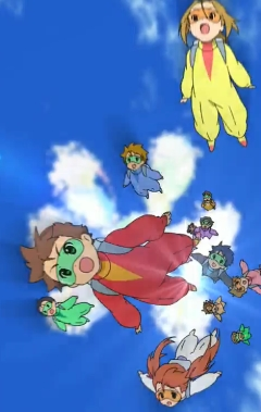 постер аниме Sora Hen