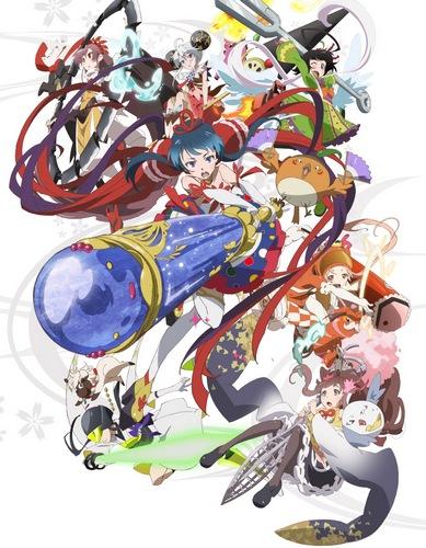 постер аниме Mahou Shoujo Taisen