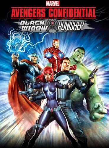 ��������� ��������� ���������: ������ ����� � �������� / Avengers Confidential: Black Widow & Punisher (2014) BDRip 1080 | DVO