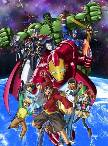 постер аниме Disk Wars: Avengers
