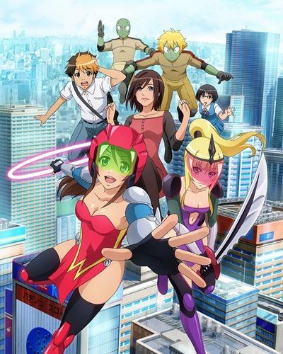 постер аниме Wonder Momo