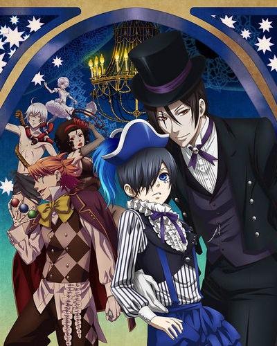 Демон-дворецкий 3 сезон / Kuroshitsuji: Book of Circus