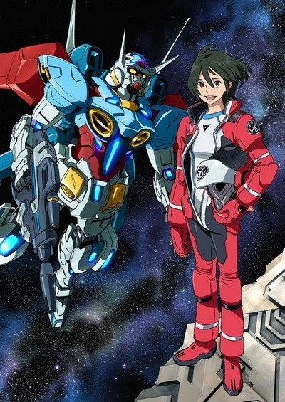 постер аниме Gundam G no Reconguista