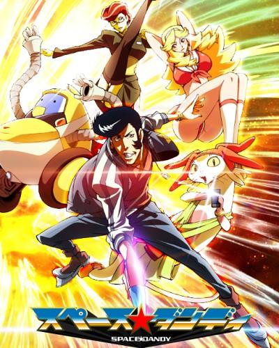 постер аниме Space Dandy 2