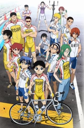 Трусливый велосипедист 2 сезон / Слабак педальный 2 сезон / Yowamushi Pedal: Grande Road