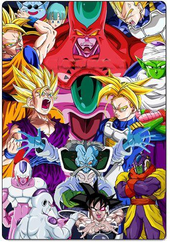 постер аниме Драгонболл Зет OVA-1 (ремейк)