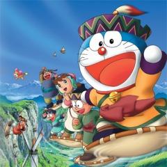 постер аниме Doraemon: Nobita to Fushigi Kaze Tsukai