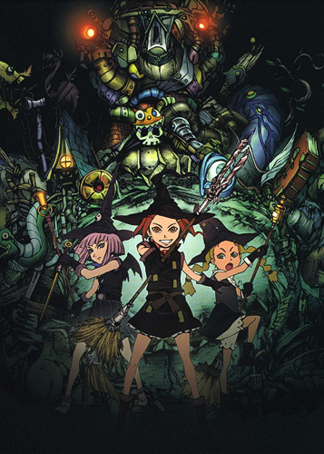 постер аниме Отряд волшебниц Алисы [ТВ]