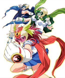постер аниме Ryuusei Sentai Musumet