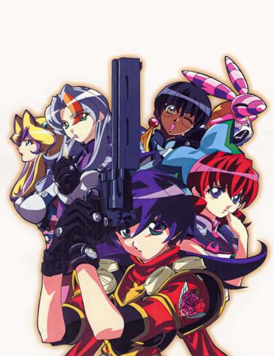 постер аниме Шесть ангелов