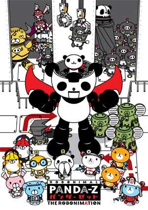 постер аниме Панда-Зет: Робонимация