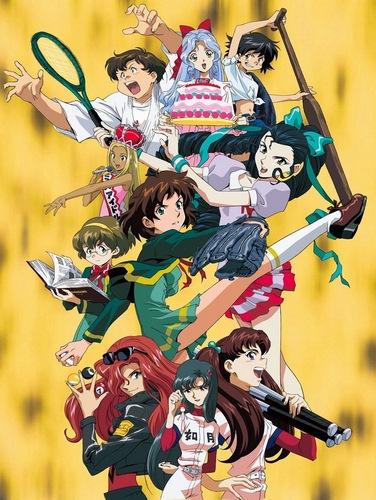 постер аниме Девять принцесс