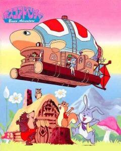 постер аниме Приключения Боско