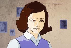 постер аниме Дневник Анны Франк (спешл)