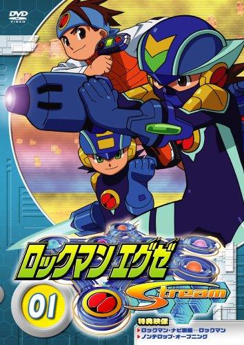 постер аниме Rockman.Exe Stream