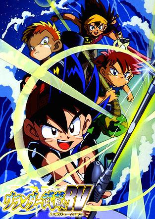 постер аниме Grander Musashi RV