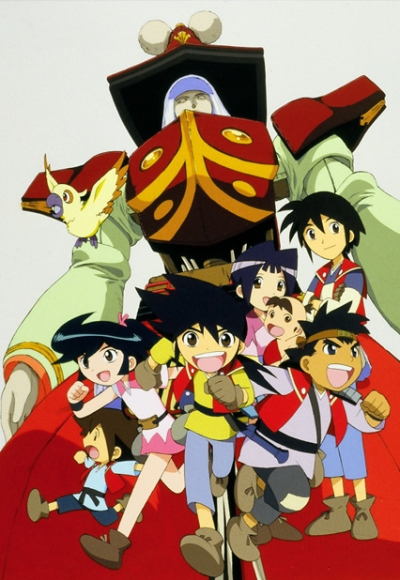 постер аниме Karakuri Kiden Hiwou Senki