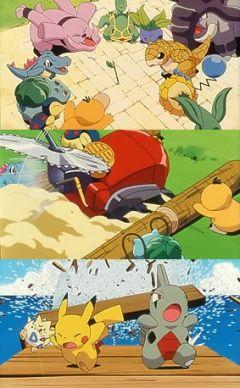 постер аниме Pikachu no Dokidoki Kakurenbo