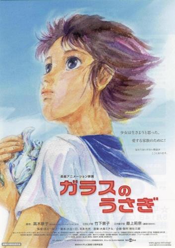 постер аниме Стеклянный кролик
