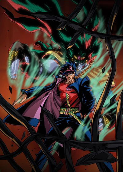 постер аниме Невероятные приключения Джоджо OVA-2
