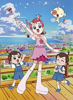 постер аниме Cosmic Baton Girl Comet-san