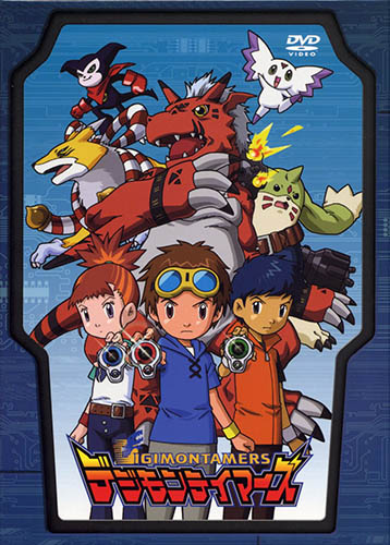 постер аниме Digimon Tamers