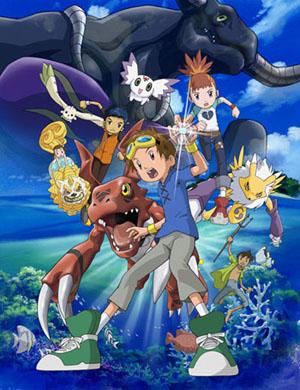 постер аниме Digimon Tamers: Boukensha-tachi no Tatakai