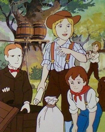 постер аниме Маленькие путешественники