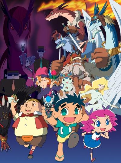 постер аниме Legendz: Yomigaeru Ryuuou Densetsu