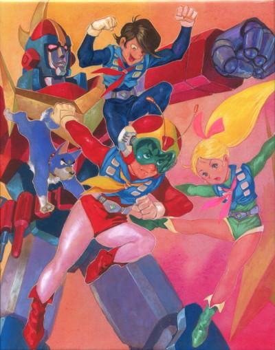 постер аниме Muteki Choujin Zanbot 3