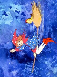 постер аниме Юная волшебница Лалабель (фильм)