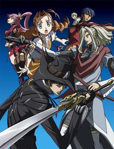 постер аниме Огнем и мечом