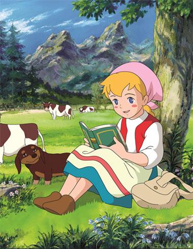 постер аниме Катри, девочка с лугов