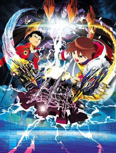 постер аниме Gekitou! Crush Gear Turbo: Kaizabaan no Chousen