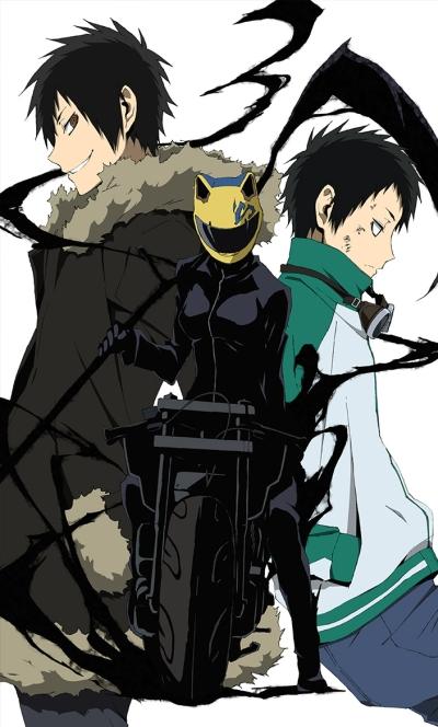 постер аниме Дюрарара!! 2 (сезон второй)