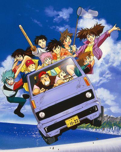 постер аниме Храбрая команда Дагвон OVA