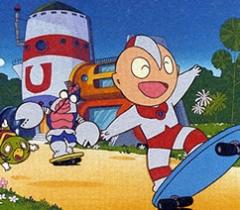 постер аниме Ultraman Kids no Kotowaza Monogatari