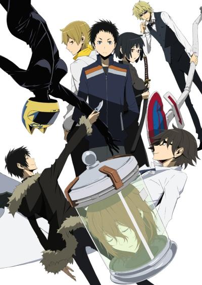 постер аниме Дюрарара!! 2 (сезон третий)