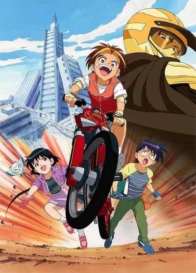 постер аниме Idaten Jump