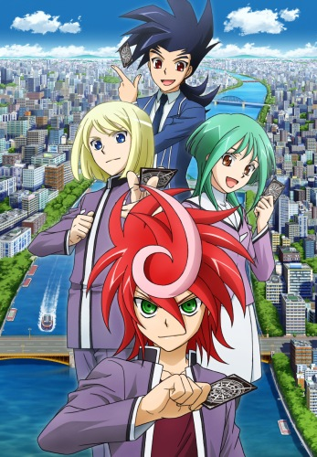 постер аниме Cardfight!! Vanguard G
