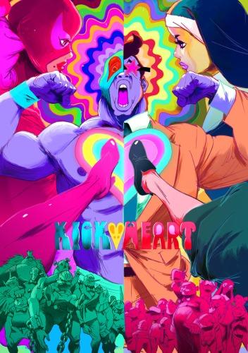 постер аниме Kick-Heart