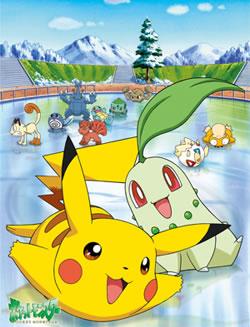 постер аниме Pocket Monsters: Pikachu no Fuyuyasumi (2000)