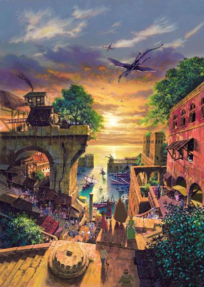 постер аниме Сказания Земноморья
